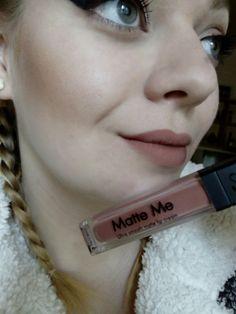 #face #makeup #sleek #matteme
