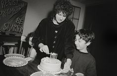 Dick Blau, Birthday Cake (Max is 11), 1998