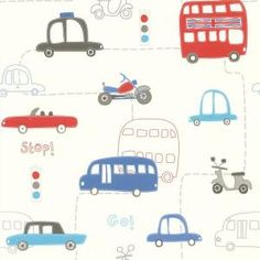 Brewster, 56 sq. ft. Moto London Red British Autos Wallpaper, 443-90505 at The Home Depot - Mobile