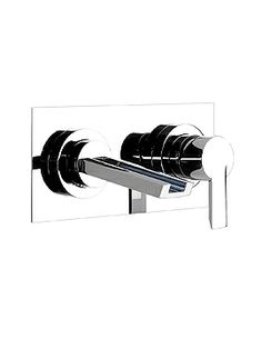 Image of Abode Desire Wall Mounted Basin Mixer Tap - AB1354