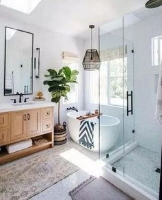 Home Interior Design .Home Interior Design Scandinavian Style Home, Scandinavian Bathroom, Minimalist Scandinavian, Scandinavian Interiors, Bathroom Interior Design, Kitchen Interior, Loft Kitchen, Farmhouse Interior, Interior Design For House