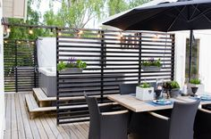 Our home. Photographer: S Hellstrom Photgraphy Outdoor Living Areas, Outdoor Spaces, Outdoor Decor, Back Patio, Backyard Patio, Exterior Design, Interior And Exterior, Greenhouse Shed, Garden Paving