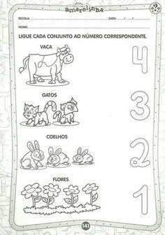 Arte de Educar: Atividades com os numerais