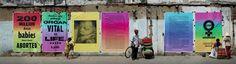 Campanha estampa o feminicídio nas ruas do Vietnã