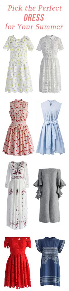 Pick the perfect dress for your summer vacation chicwish.com