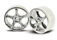 From the Manufacturer This is the 2473 Tracer Front Wheels Chrome Bandit  (2) from Traxxas. Traxxas has grown to become the ... 1ae75e65d384a