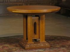 Altar-table at Calvary Lutheran Church in Minneapolis, MN.  The base of the original pulpit was used to construct this new altar table.  Built by Richard Helgeson and Laurie McKichan. Liturgical design consultant, Carol Frenning.