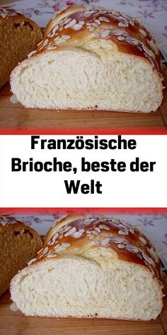 Französische Brioche beste der Welt – Famous Last Words Baking Recipes, Cake Recipes, French Brioche, Banana Bread Recipes, Pampered Chef, Macaron, Chocolate Recipes, Chocolate Cake, Nutella