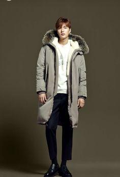 Korean Model, Lee Min Ho, Korean Actors, Canada Goose Jackets, Bomber Jacket, Winter Jackets, Minho, Artist, Style