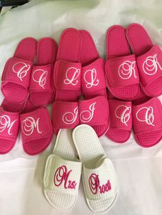 369e6807fbc5d1 Items similar to Personalized slippers