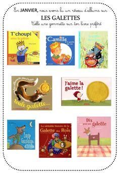 Réseau d'albums sur la galette - La maternelle de Vivi Nursery School, Messages, French Tips, Kindergarten Stem, Rice, Text Posts, Text Conversations