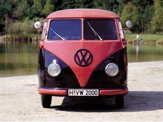 1950-67 Volkswagen T-1 Kombi bus classic retro