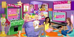 barbie games everything girl | Barbie Games > Cooking Games. Free Cooking Online for Girls and Kids ...