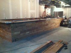 Bar Front | Wall And Surface Materials Incl Bar | Pinterest | Bar, Sous Sol  And Bar Counter