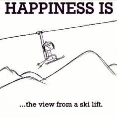 Happiness is the view from a ski lift Skiing Memes, Skiing Quotes, Alpine Skiing, Snow Skiing, Ski Ski, Apres Ski Party, Ski Bunnies, Ski Racing, I Love Winter