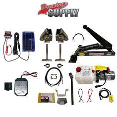 3 Ton (6,000 lb) Dump Trailer Hydraulic Scissor Hoist Kit – PH310 Premium