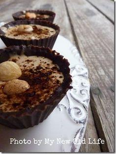 Praline ripiene di crema al caffè handmade