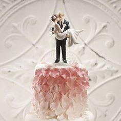 """Swept Up in His Arms"" Wedding Couple Figurine - Weddingstar"