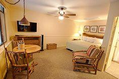 Newly-remodeled Standard Room at Yosemite Lodge at the Falls