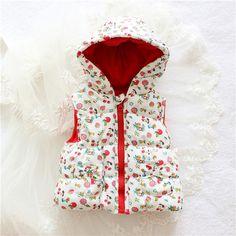 Sodawn Hot Sale Girls' flowers Cotton  Cute Waistcoat Kids Vest Children  Free Shipping autumn lace
