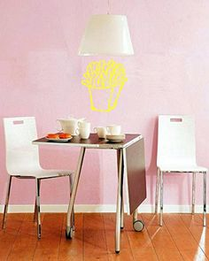 Wall Vinyl Sticker Decals Mural Room Design Pattern Frenc...