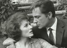 Maureen O'Hara and Rossano Brazzi in The Battle of the Villa Fiorita (1965)