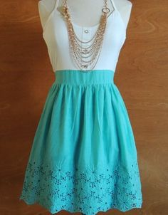 NEW Womens Annabella Crochet Trim Mod Junior Fashion Cloth Urban Chic Sun Dress