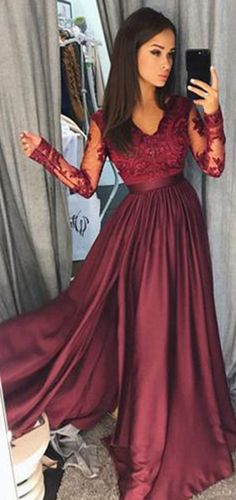 3365ef3b5b7 74 Best Prom Dresses Long With Sleeves images in 2019
