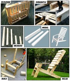 Just one pallet for a chair