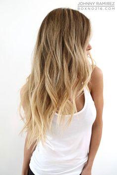 Hair Color by JOHNNY RAMIREZ • IG: @JohnnyRamirez1 • Ramirez|Tran Salon - 310.724.8167 -info@ramireztran.com // #ramireztran #johnnyramirez #beautifulhair #wavyhair #beforeandafterhair #sunkissedhighlights #beachyblonde #beverlyhills #dubai #miami #newyork #hairinspiration #celebrityhair #beachhair #colorcorrection