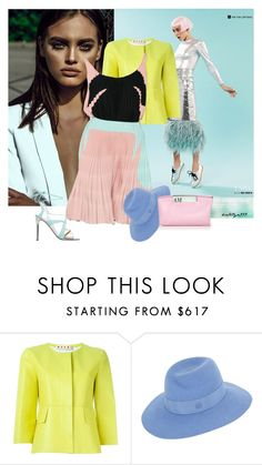 """""""You got the love... !"""" by katelyn999 ❤ liked on Polyvore featuring Victoria Beckham, Marni, Prada, Maison Michel, Delpozo, women's clothing, women, female, woman and misses"""