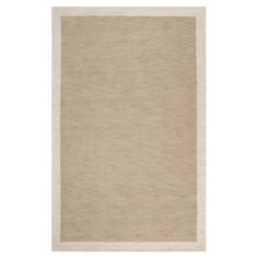 Loomed wool rug.   Product: RugConstruction Material: 100% WoolColor: Safari tan and parchment