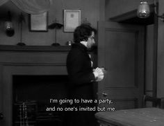 I have self-parties all the time. I'd invite you, but...you know......