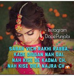 c359f2766d Punjabi Captions, Punjabi Love Quotes, Devotional Quotes, Love Shayri, Attitude  Quotes,