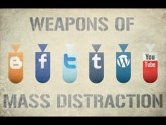 Weapons of Mass Distraction. Could be a passive program/ bulletin board for social media pros & cons. Also could advertise some helpful ones for keeping college students on track!