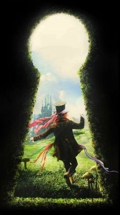 mad hatter into the wonderland promotional poster