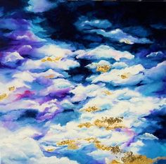 Sy-Fly-Sick Paintings and Sick, Clouds, Abstract, Drawings, Artwork, Painting, Summary, Work Of Art, Painting Art
