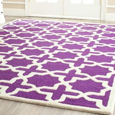 Refresh any room with this hand-tufted wool rug featuring a Moroccan tile motif. Get this great find and more home decor at up to 70% off at jossandmain.com