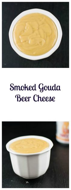 Smoked Gouda Beer Cheese is a delicious warm appetizer dip or sauce | Beer Girl Cooks