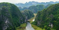 NINH BINH is the capital of the province of Ninh Binh in Vietnam. ➤ The historic first capital of Vietnam - Hoa Lu. Travel guide and travel tips for Ninh Binh. North Vietnam, Red River, The Province, Hanoi, Historical Sites, Travel Guide, Scenery, Mountains, Landscape
