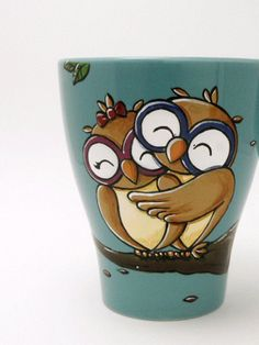 Owl always love you mug owls in love mug Valentine's от vitaminaeu