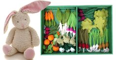 Use the bunny theme to talk, play and do gardening!