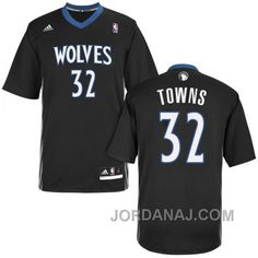 http://www.jordanaj.com/karlanthony-towns-minnesota-timberwolves-32-lights-out-alternate-black-short-sleeve-jersey.html KARL-ANTHONY TOWNS MINNESOTA TIMBERWOLVES #32 LIGHTS OUT ALTERNATE BLACK SHORT SLEEVE JERSEY Only $89.00 , Free Shipping!