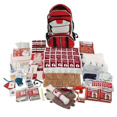 Guardian 2-person Elite Survival Kit.. Good to purchase or just use the list as a guide to pull together your own.