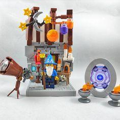 Lego Minifigure Display, Lego Custom Minifigures, Lego Castle, Cool Lego Creations, Lego Moc, Character Ideas, Legos, Cosmic, Brick