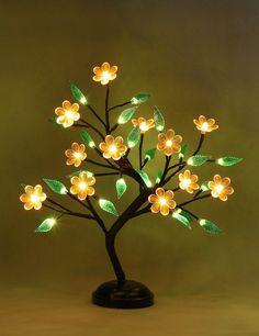 Nylon Flowers, Love Flowers, Light Decorations, Table Decorations, Branch Decor, Diy Cardboard, Dim Lighting, Polymer Clay Flowers, Led Night Light