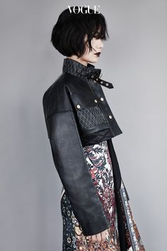 ~ Living a Beautiful Life ~ Bae Doo Na fashion photo Japanese Street Fashion, Asian Fashion, High Fashion, Winter Fashion, Vogue Korea, Vogue Spain, Harajuku Mode, Harajuku Fashion, Fashion Shoot