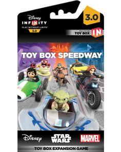 DISNEY INFINITY 3 - Toy Box Game Piece Speedway