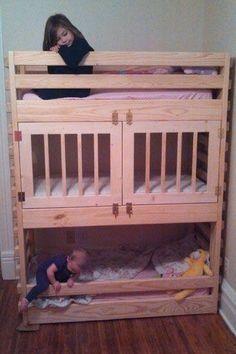 5 wonderful ideas of triple bunk beds for your kids bedroom rh pinterest com