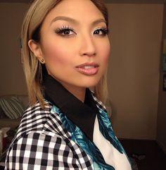 Girl Power, Woman Power, Makeup Tips, Hair Makeup, Jeannie Mai, Beauty Hacks, Beauty Tips, Powerful Women, Blue Hair